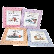 Set of Four Winnie The Pooh Pop-Up Books