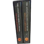 Two Volume Set Annotated Sherlock Holmes 4 Novels and Short Stories