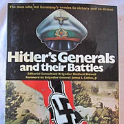 Hitler's Generals and their Battles