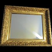 Gilded Ornate Framed Mirror