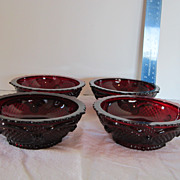 Avon Cape Cod Collection Dessert/Fruit Bowls Mint in Box.