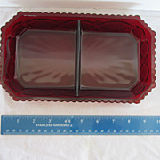 Avon Cape Cod Collection Relish Condiment dish Mint in Box