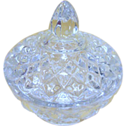 Lenox Crystal Trinket Holder/Vanity Bowl