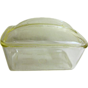Westinghouse Clear Glass Lidded Refrigerator Dish