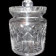 Waterford Crystal Lismore Pattern Biscuit Jar