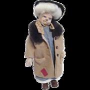 """Faith Wick 15"""" Tall Bag Lady Doll"""