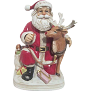 Melody in Motion Santa with Rudolph Music and Lighted Nose