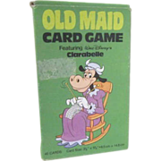 Disney Old Maid Large Cards with Clarabelle 1981