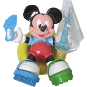 Disney Scrub-A-Dub Mickey 6 Piece Bath Toy