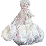 Doll from Victorian Rose Collection Lace Covered