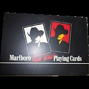 Double Decks Marlboro Wild West Playing Cards Sealed in Original Box