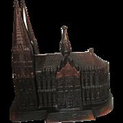 Bronzed Kolner Dom Cologne Cathedral Jewelry Casket Box