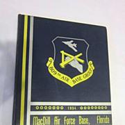 Vintage 1954 Year Book Mac Dill Air Force Base, Florida 809th  Base