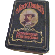Set of 2 Unopened Jack Daniel's Playing Cards in Jack Daniel's Tin