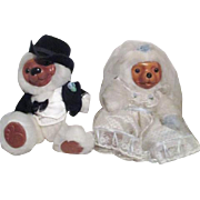 Bride and Groom Stuffed Raikes Bears
