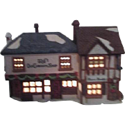 Dept 56 Christmas Heritage Village Collection Dickens Series The Old Curiosity Shop and Rare B