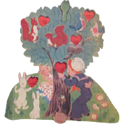 Large Vintage Valentine Movable Parts