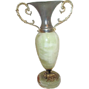 Marble Souvenir of Rome Prior Lamp