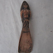 Vintage Two-Sided Sculpture Shoe Horn
