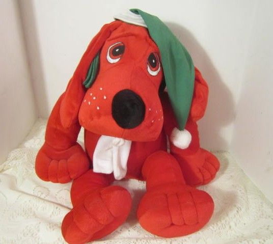 "Vintage ""Clifford"" Stuffed Toy"