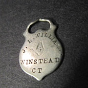 Antique Masonic Men's Watch Fob
