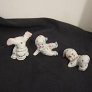 Vintage 3 Small Clowns