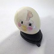 """Vintage Porcelain Hand Decorated """"Chick"""" Egg"""
