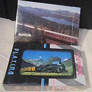 Vintage Playing Cards from Amtrak