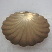 Vintage Brass Sea Shell