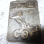Vintage  Watch Fob Terex GM Front Loader