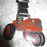 Vintage Watch Fob with Allis-Chalmers Tractor