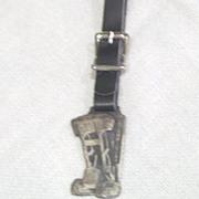 Vintage Watch Fob Caterpillar