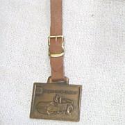 Vintage Watch Fob Ingersoll-Rand