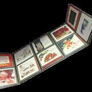 Christmas Card Sampler Sales Display