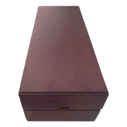Mahogany Presentation Box for Wine Bottle