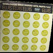 2 Record Set of Elvis Presley Worldwide Gold Award Hits