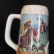Collectable Limited Edition Beer Stein The Oak Leaf Stakes