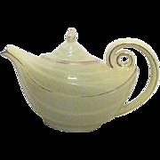 Hall Yellow Aladdin Lamp Tea Pot Mid Century