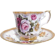 Elizabethan Fine Bone China Cup and Saucer from England