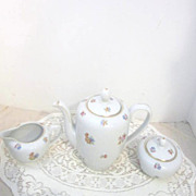 Vintage Johann Haviland Bavarian Coffee Set