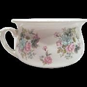 English Chamber Pot Flower Transferware, Arthur Wood