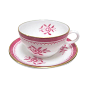 English Spode Miniature Cup and Saucer