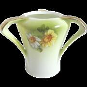 Small Three Handled German Vase