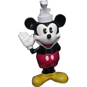 SOLD Disney Porcelain Hand Painted Mickey Mouse Soap/Lotion Dispenser