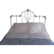 Beautiful layover pillow sham cutwork with angels