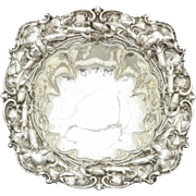 Whiting Sterling Silver Floral Bowl
