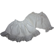 SOLD Antique Slip and Matching Pantaloons Early 1900s