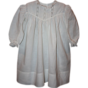 SOLD White Antique Toddler Dress 1900