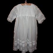 SOLD Beautiful Edwardian Child's Dress Early 1900s