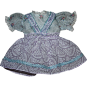 SOLD Organdy Doll Dress for Toni and Friends 1950s